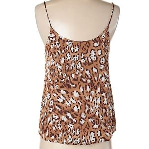 Lush Tops - Lush Leopard Animal Print Spaghetti Strap Tank Top